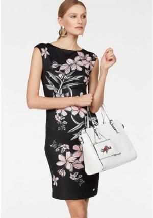 Платье BRUNO BANANI. Цвет: черный/с рисунком