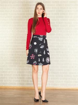 Блузка-боди TrendyAngel. Цвет: красный