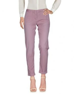 Повседневные брюки MONOCROM. Цвет: сиреневый