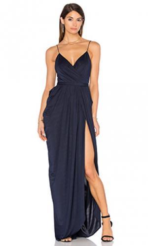 Макси платье susanna Elle Zeitoune. Цвет: синий