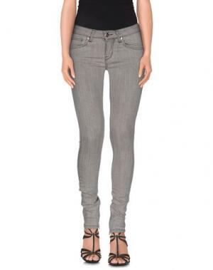 Джинсовые брюки H²O LUXURY. Цвет: серый