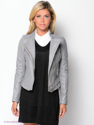 Куртка FIOMIO. Цвет: серый