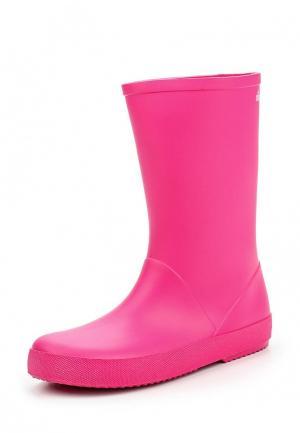 Резиновые сапоги Chicco. Цвет: розовый