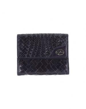 Бумажник FRANCESCO BIASIA. Цвет: темно-фиолетовый