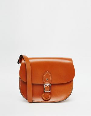 Leather Satchel Company Сумка. Цвет: рыжий