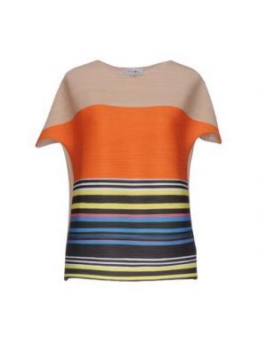 Блузка EYEDOLL. Цвет: бежевый