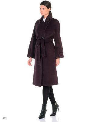 Пальто Lea Vinci. Цвет: сливовый