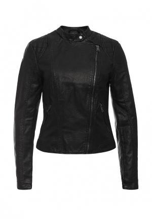 Куртка кожаная Vero Moda. Цвет: черный