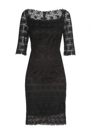 Кружевное платье 136797 Villa Turgenev. Цвет: черный