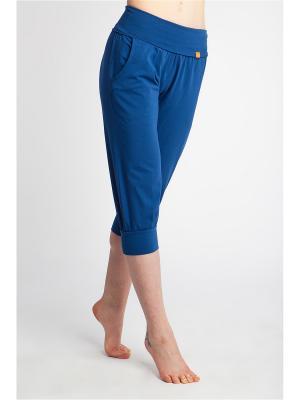 Бриджи Кантри yogadress. Цвет: синий