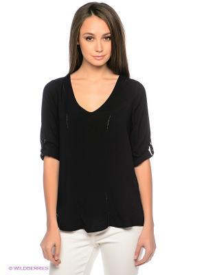 Блузка MAVI. Цвет: черный