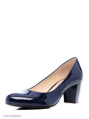 Туфли Moda Donna. Цвет: синий