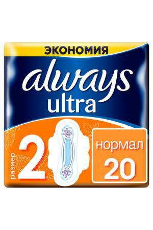 Прокладки Ultra Normal, 20 шт ALWAYS. Цвет: none
