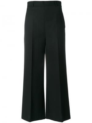 Расклешенные брюки с завышенной талией Philosophy Di Lorenzo Serafini. Цвет: чёрный
