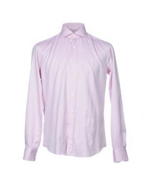 Pубашка HARRY & SONS. Цвет: розовато-лиловый