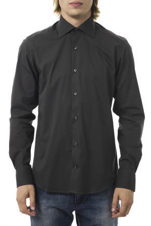 Рубашка UominItaliani. Цвет: черный