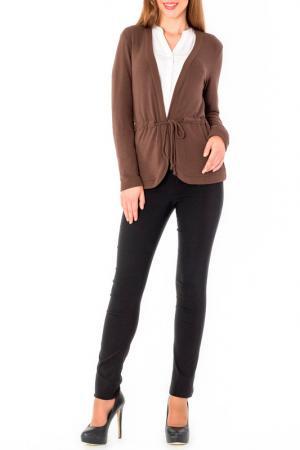 Кардиган S&A style. Цвет: коричневый