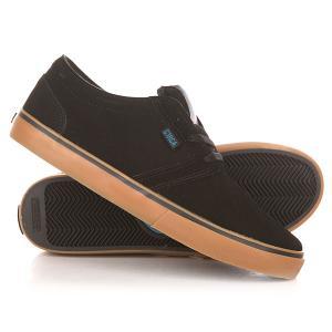 Кеды кроссовки низкие  Hesh Black/Seaport Circa. Цвет: черный