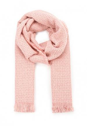 Палантин Piazza Italia. Цвет: розовый