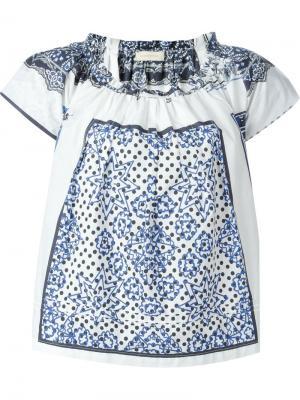 Блузка с принтом  Wunderkind 606542211437295