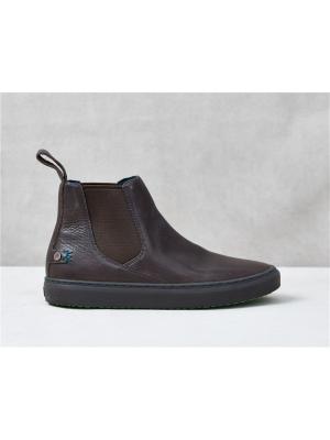 Ботинки Челси Satorisan. Цвет: темно-коричневый