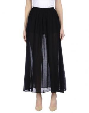 Длинная юбка EUROPEAN CULTURE. Цвет: черный