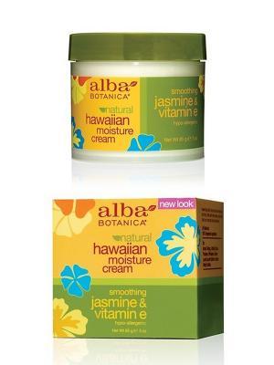 Гавайский увлажняющий крем Жасмин&Витамин Е, 85 гр Alba Botanica. Цвет: белый