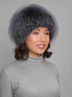 Шапка Slava Furs. Цвет: серебристый
