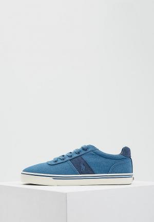 Кеды Polo Ralph Lauren. Цвет: голубой
