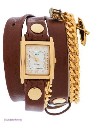 Часы La Mer Collections. Цвет: коричневый, золотистый