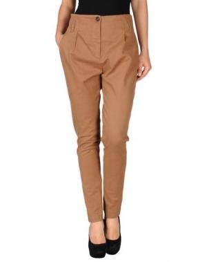 Повседневные брюки SHI 4. Цвет: верблюжий