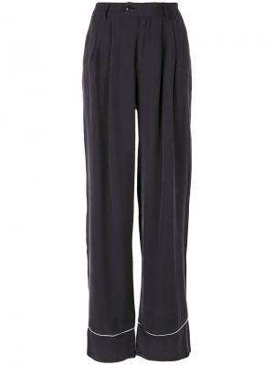 Расклешенные брюки Essentiel Antwerp. Цвет: синий