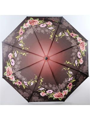 Зонт Magic Rain. Цвет: темно-красный, лиловый