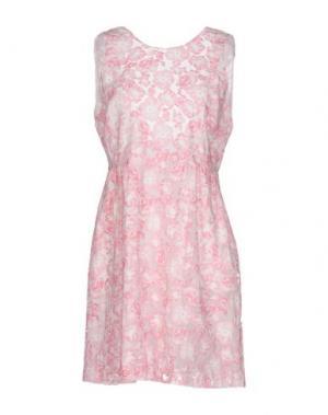 Короткое платье PAUL & JOE SISTER. Цвет: коралловый
