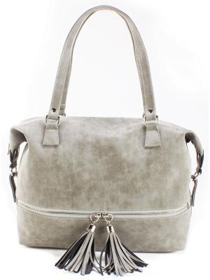 Женская сумка S.LAVIA 72650005. Цвет: серый