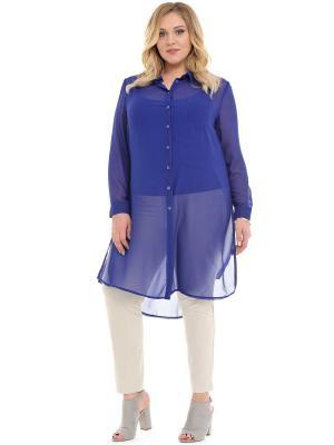 Твинсет SVESTA. Цвет: голубой