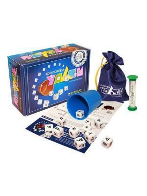 Настольная игра  Кроссворд Удачи (синий) БИПЛАНТ.. Цвет: синий