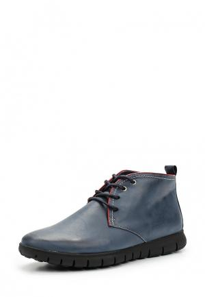 Ботинки Floktar. Цвет: синий
