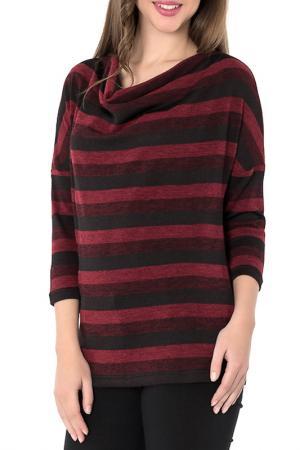 Джемпер S&A style. Цвет: бордово-черный