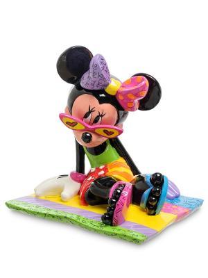 Фигурка Минни Маус в бикини Disney Britto. Цвет: красный, зеленый, синий