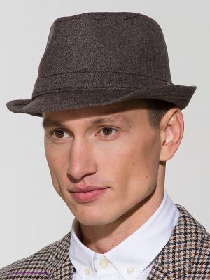Шляпа Goorin Brothers. Цвет: серо-коричневый