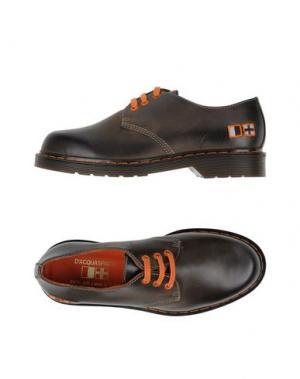 Обувь на шнурках D'ACQUASPARTA. Цвет: темно-коричневый