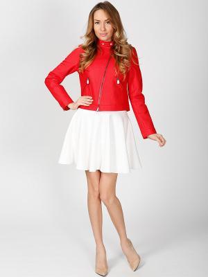 Куртка ODRI. Цвет: красный