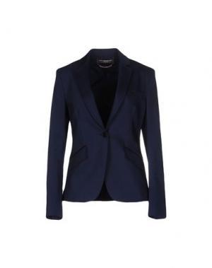 Пиджак CARLA MONTANARINI. Цвет: темно-синий