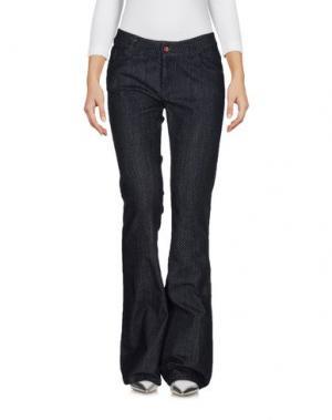 Джинсовые брюки ANOTHER LABEL. Цвет: синий