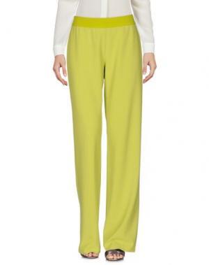 Повседневные брюки SAVE THE QUEEN. Цвет: кислотно-зеленый