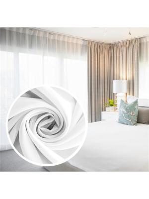 Вуаль Amore Mio однотонная 300*270 см - 1 шт. Белый. Цвет: белый