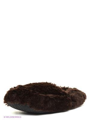 Тапочки-грелки Cozy Body Warmies. Цвет: темно-коричневый