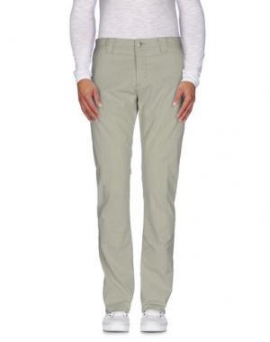 Повседневные брюки 9.2 BY CARLO CHIONNA. Цвет: зеленый
