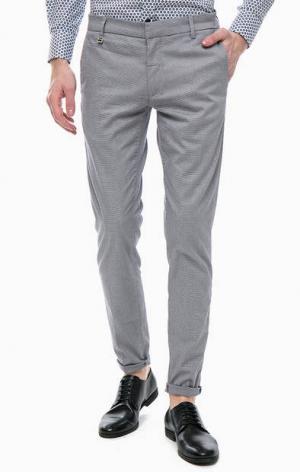 Узкие брюки из хлопка Antony Morato. Цвет: серый